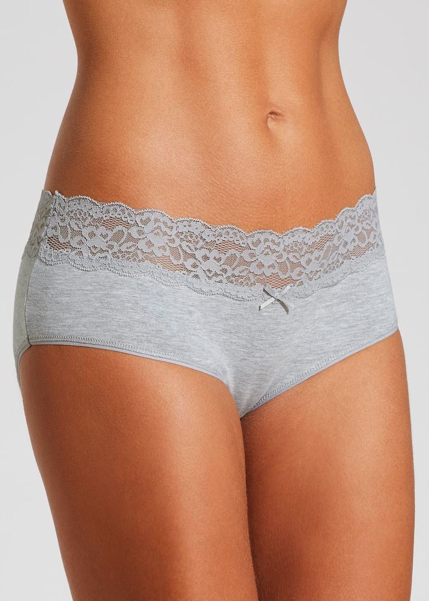 Lace Trim Rugby Short Knickers