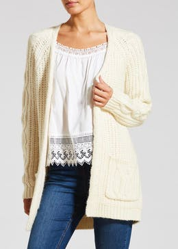 Falmer Chunky Open Front Cardigan