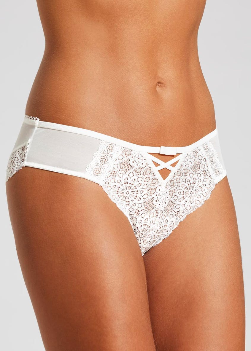 Geo Lace Short Knickers