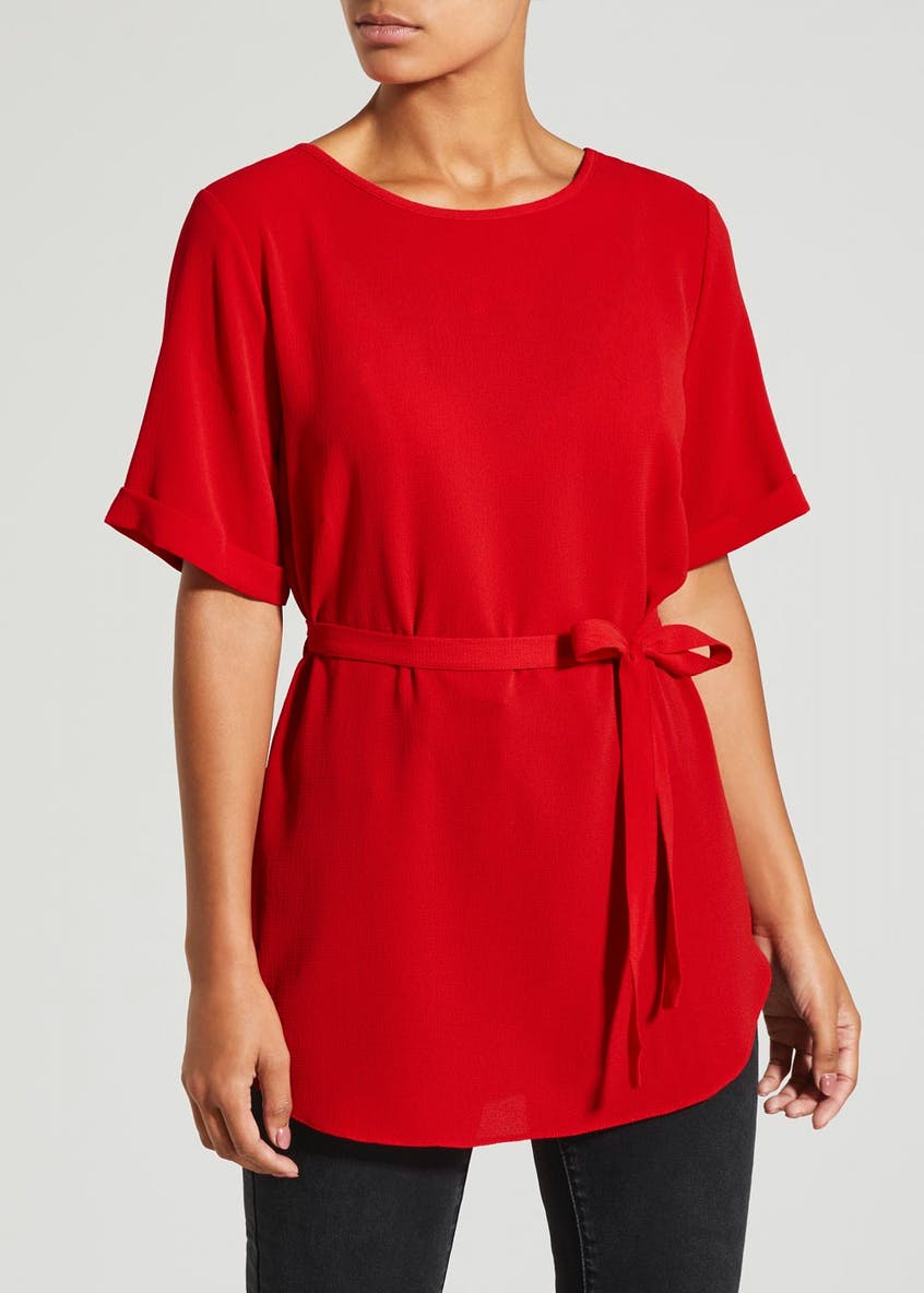 Longline Belted Tunic
