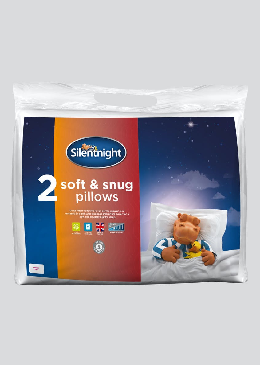 Silentnight Soft & Snug Pillow Pair