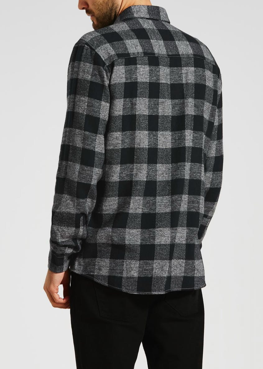 Big & Tall Long Sleeve Buffalo Check Shirt