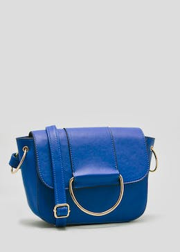 D-Ring Front Cross Body Bag