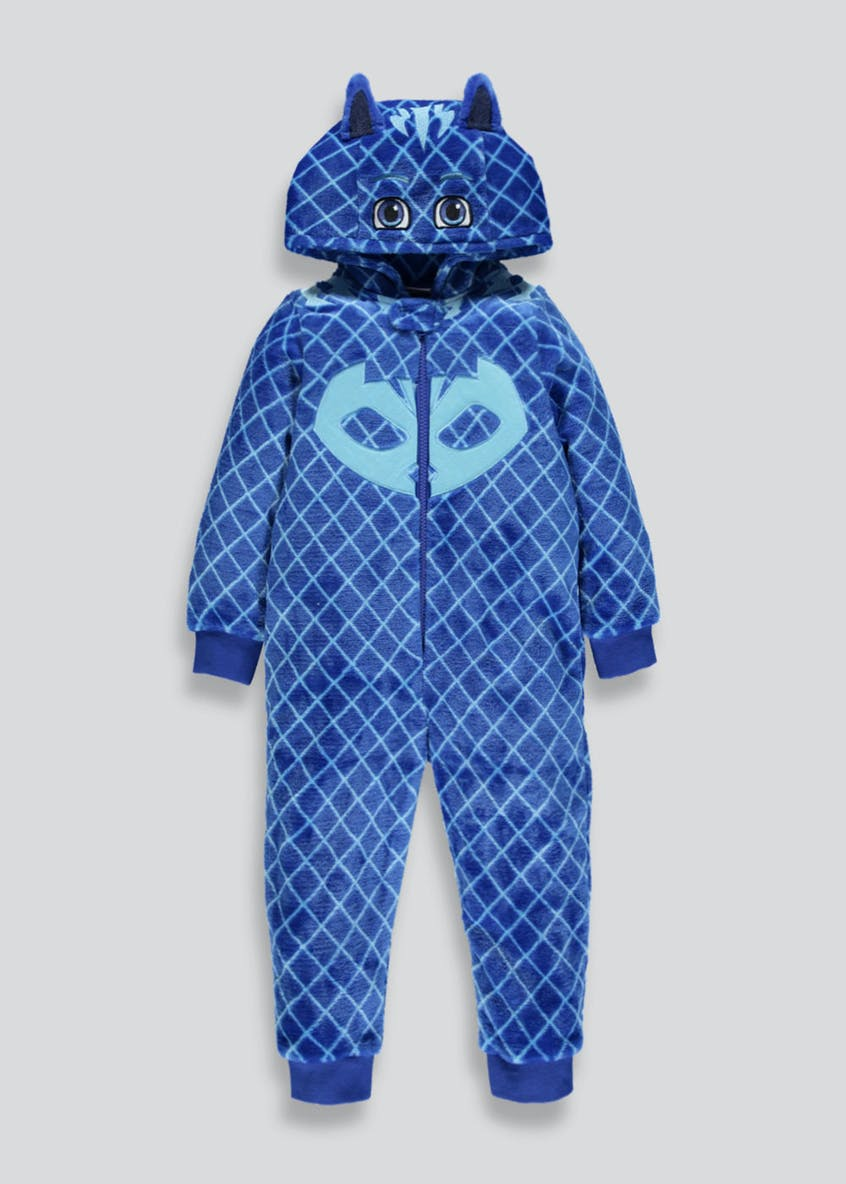 Kids PJ Masks Catboy Hooded Onesie (2-7yrs)