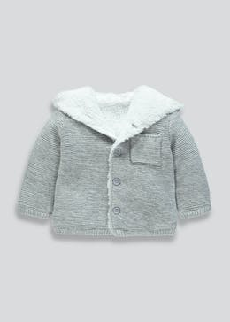 Unisex Bunny Hooded Cardigan (Tiny Baby-18mths)