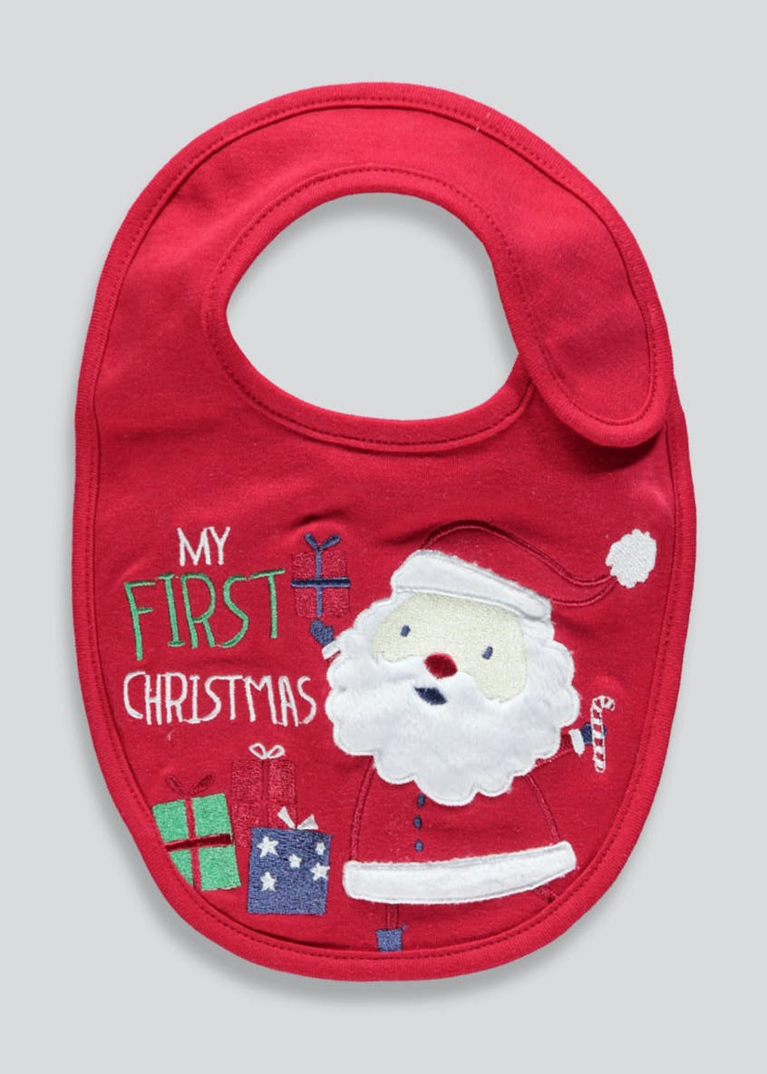 Musical Christmas Bib (One Size)