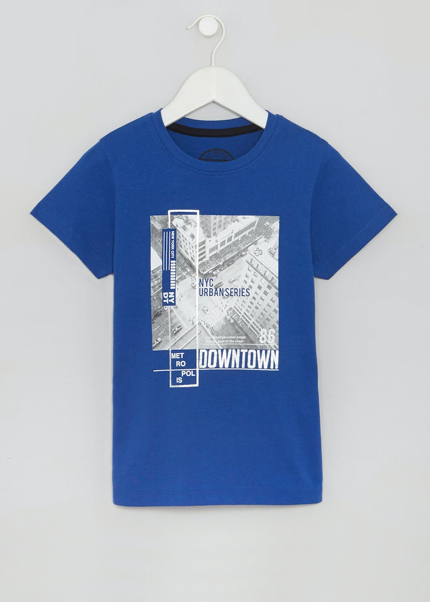 Boys City Scape T-Shirt (4-13yrs)