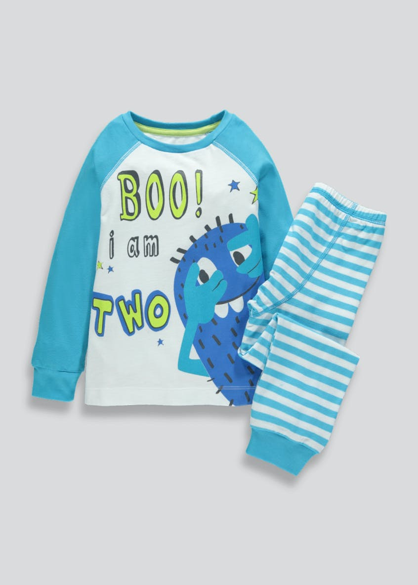 Kids I am 2 Monster Pyjama Set (2yrs)