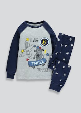 Kids I am 3 Robot Pyjama Set (3yrs)