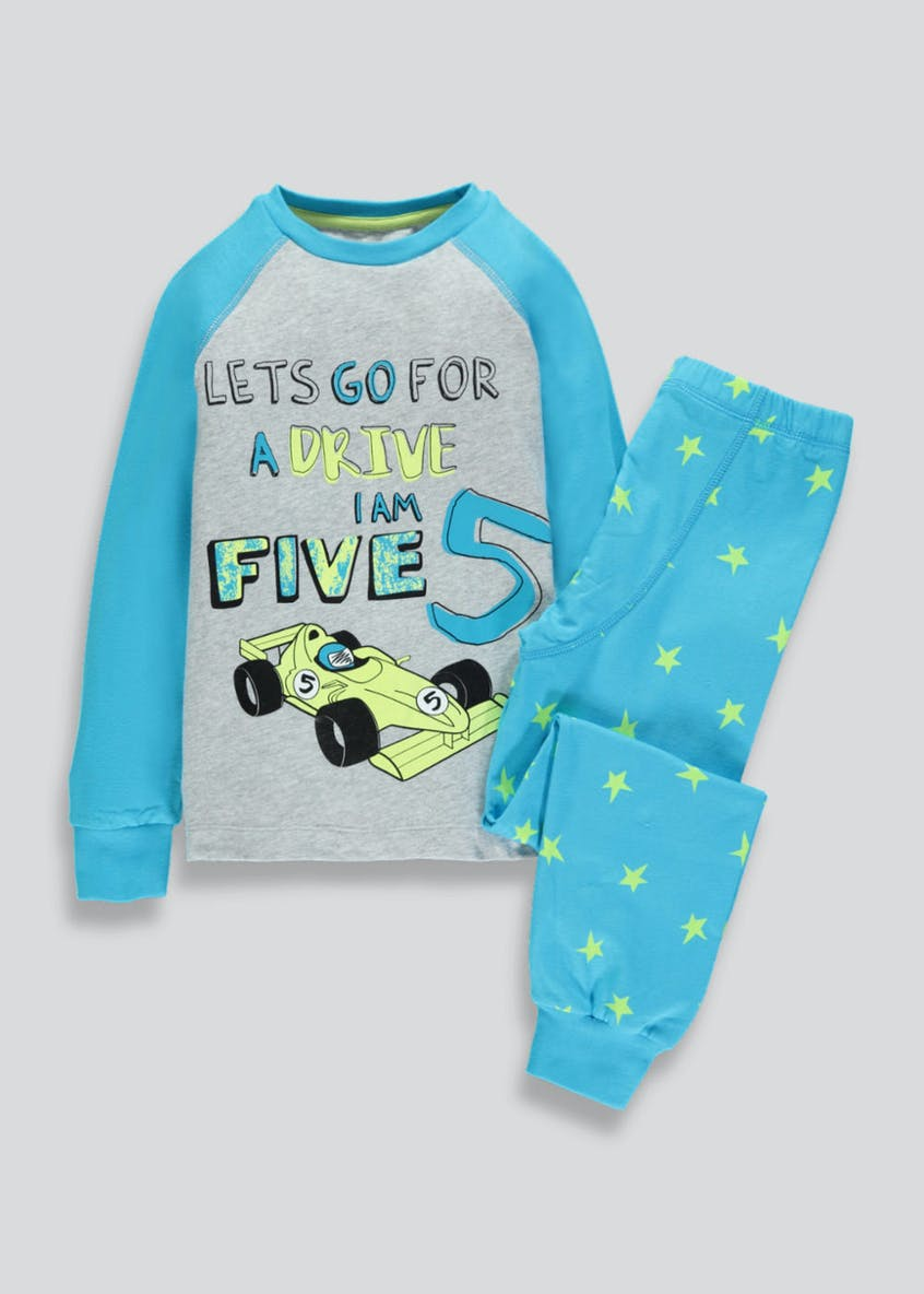 Kids I am 5 Car Pyjama Set (5yrs)