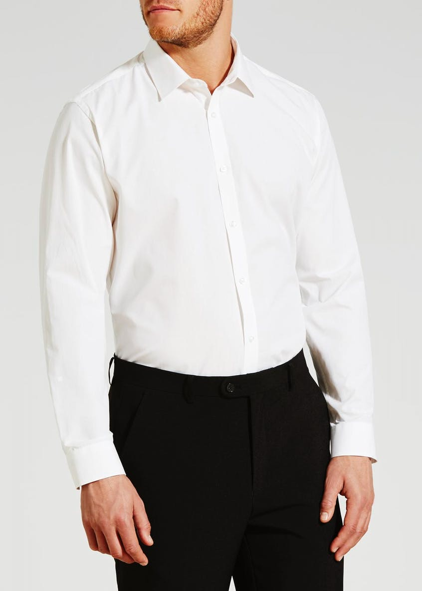 Taylor & Wright Slim Fit Long Sleeve Poplin Shirt