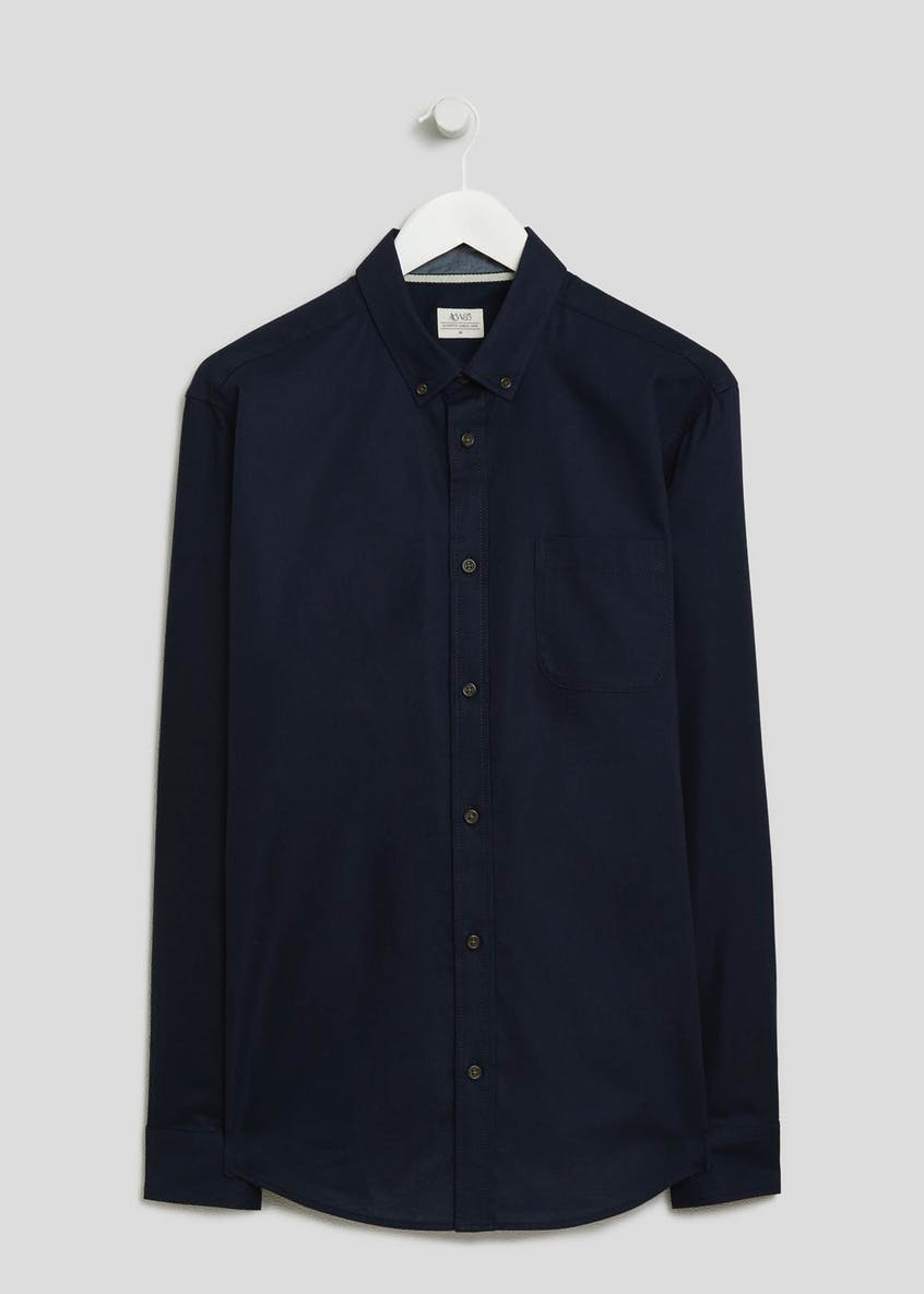 Big & Tall Long Sleeve Oxford Shirt