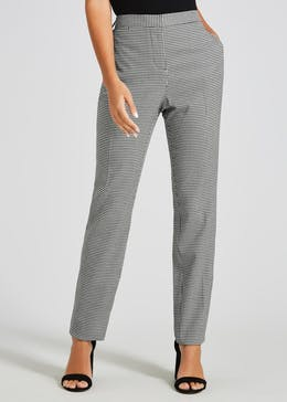 Dogtooth Check Slim Fit Trousers (29 Inch Leg)