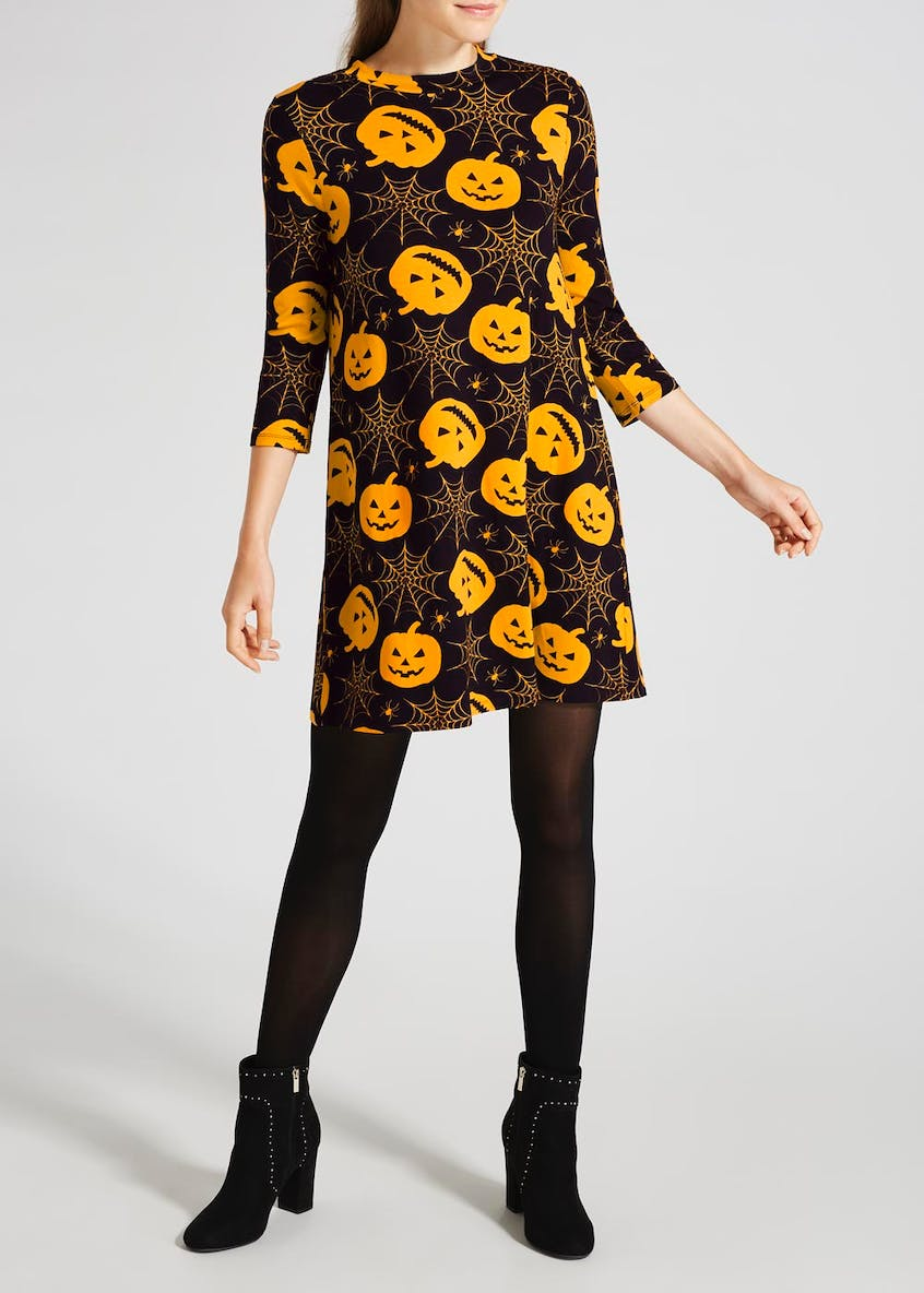 Pumpkin Novelty Halloween Dress
