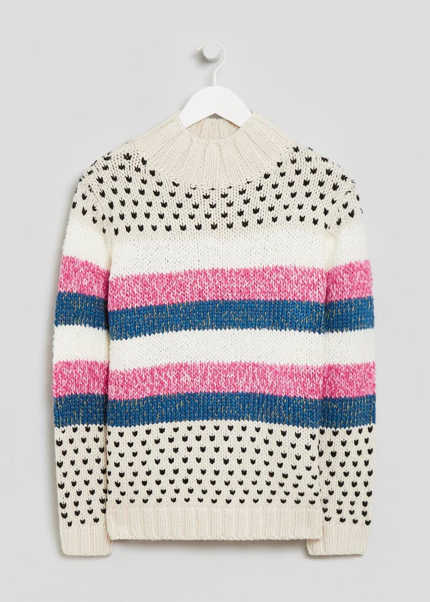 Birdseye Stripe Jumper