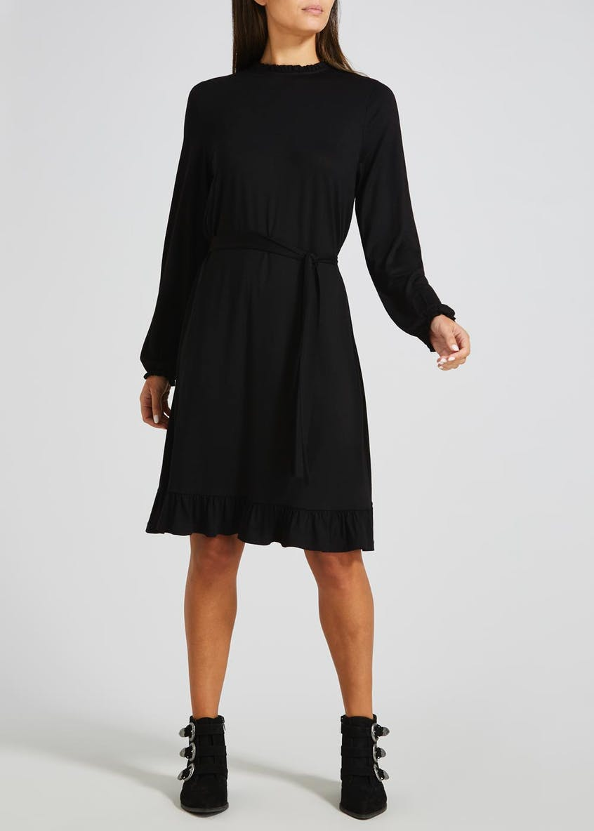 Frill Jersey Tea Dress