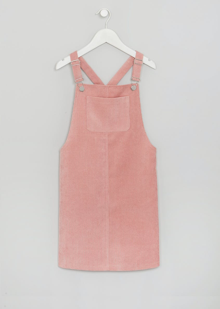 Girls Candy Couture Cord Pinafore (9-16yrs)