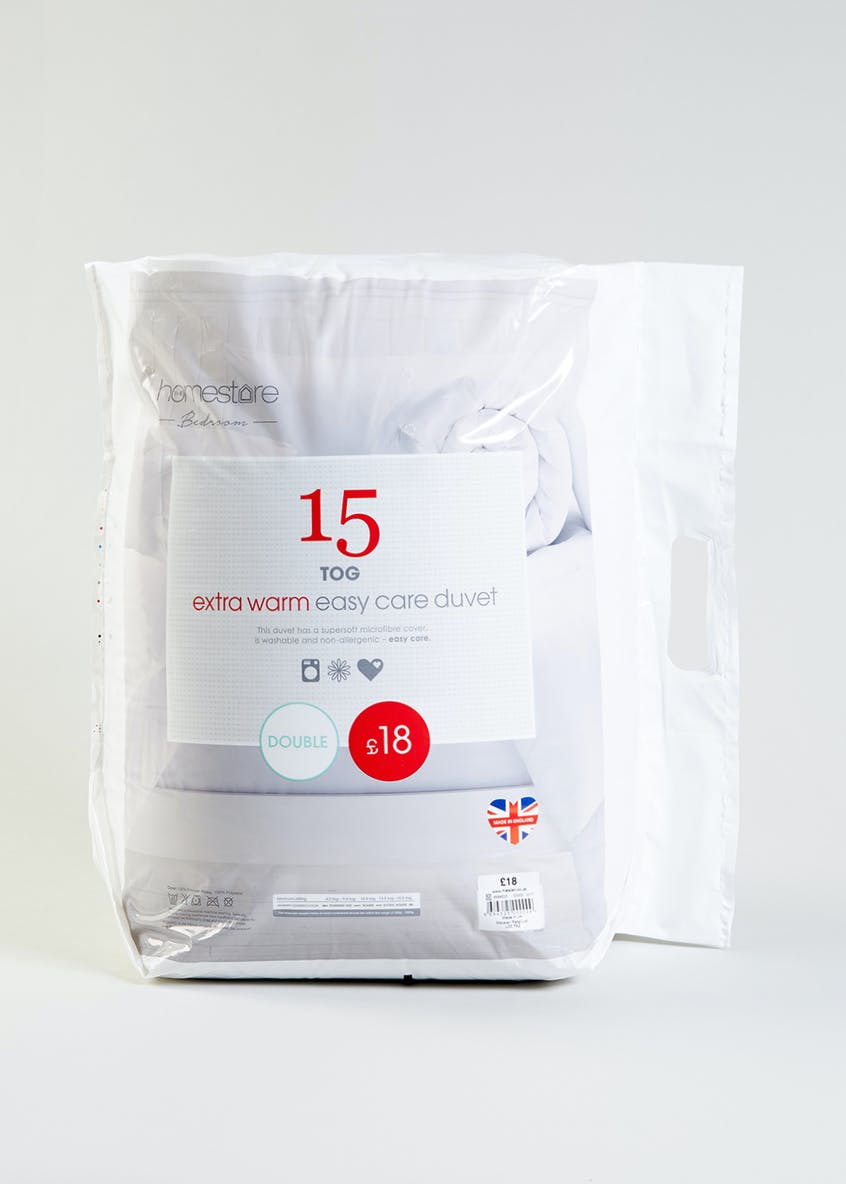 Extra Warm Easy Care Duvet (15 Tog)