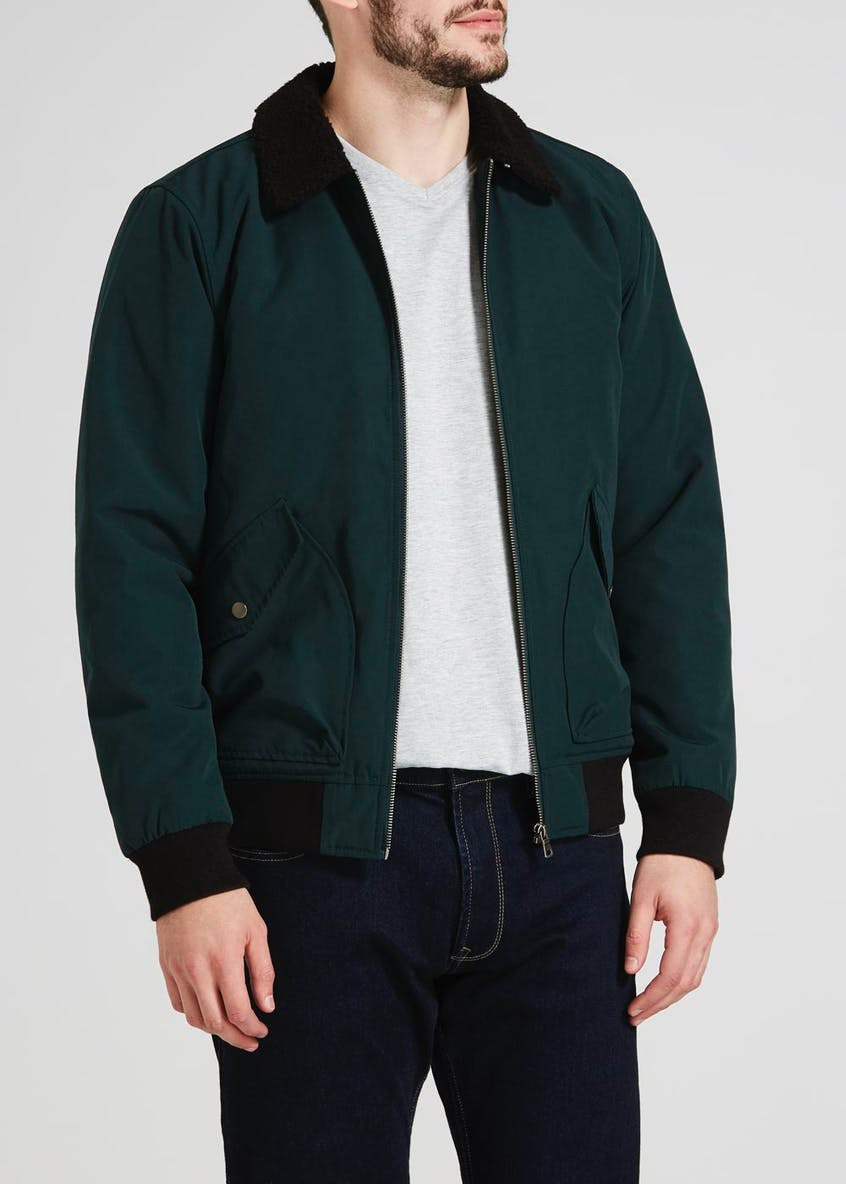 Borg Collar Aviator Jacket