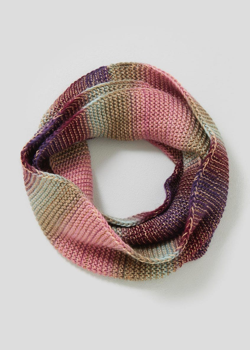 Metallic Knitted Snood