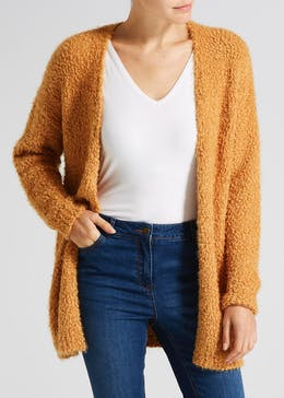 Fluffy Boucle Cardigan