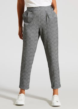 Check Harem Trousers