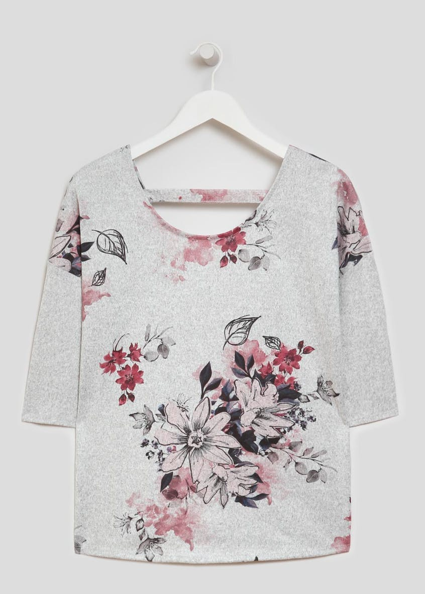 Floral Bar Back T-Shirt