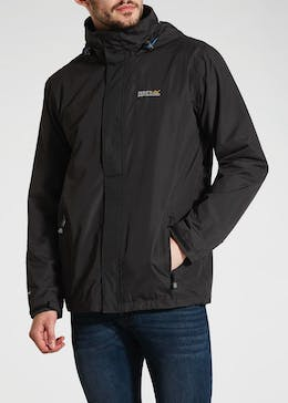 Regatta Black Matt Waterproof Jacket