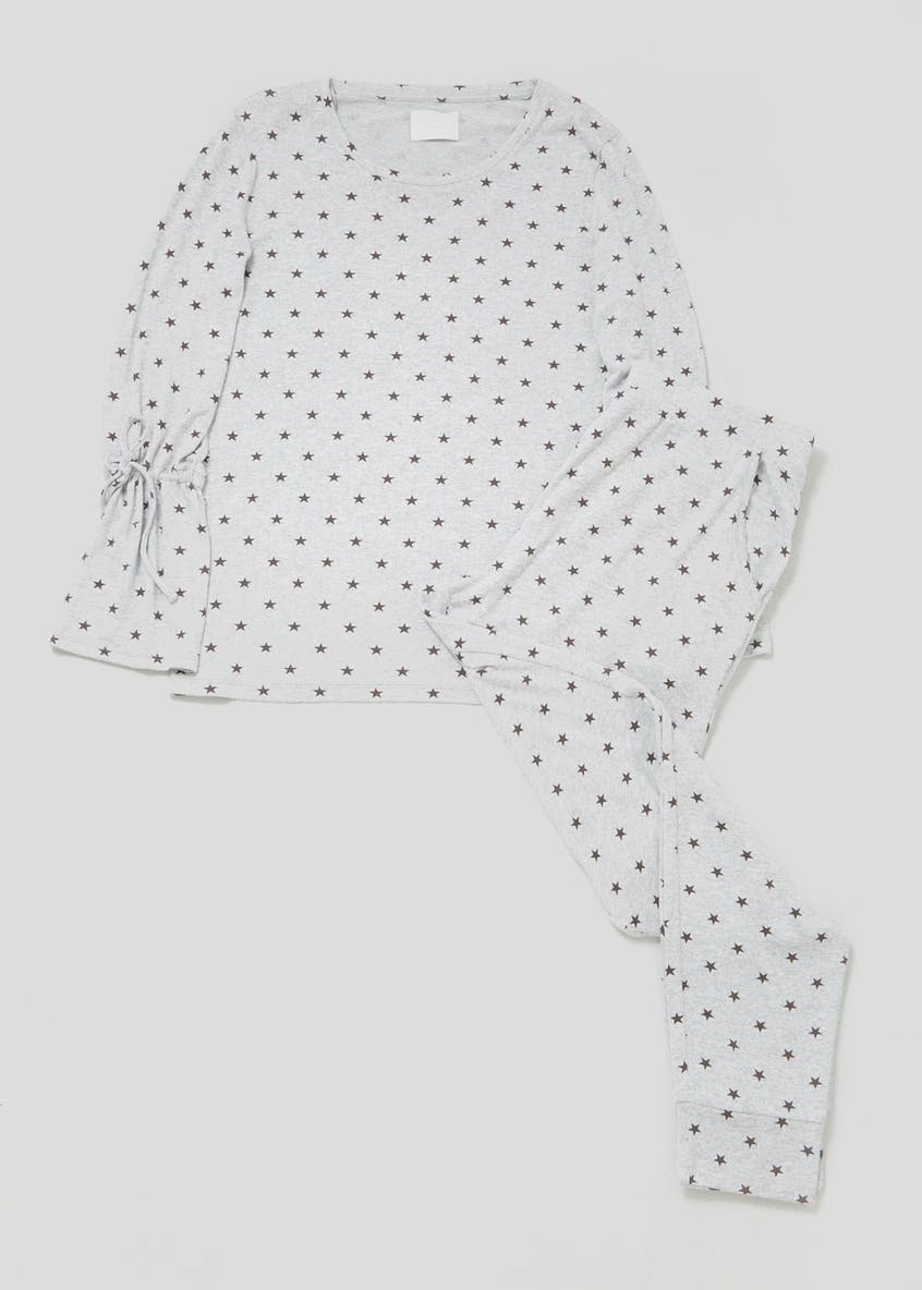 Star Tie Sleeve Pyjama Set