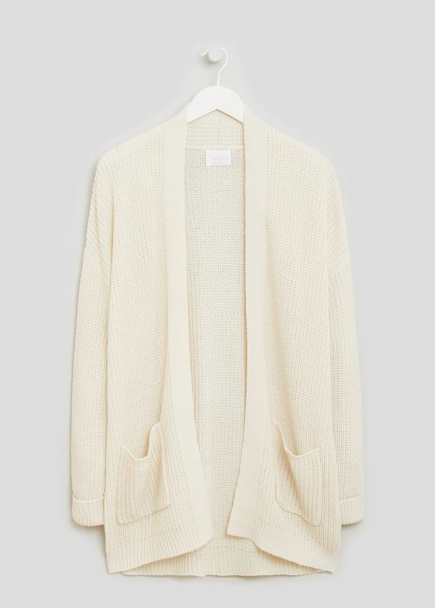 Knitted Rib Lounge Cardigan