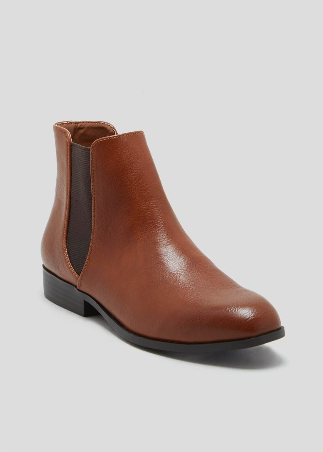 Formal Flat Chelsea Boots