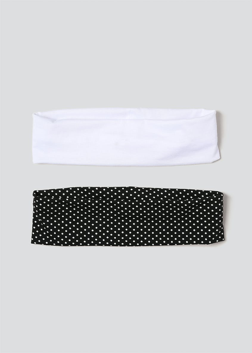 Polka Dot 2 Pack Headbands