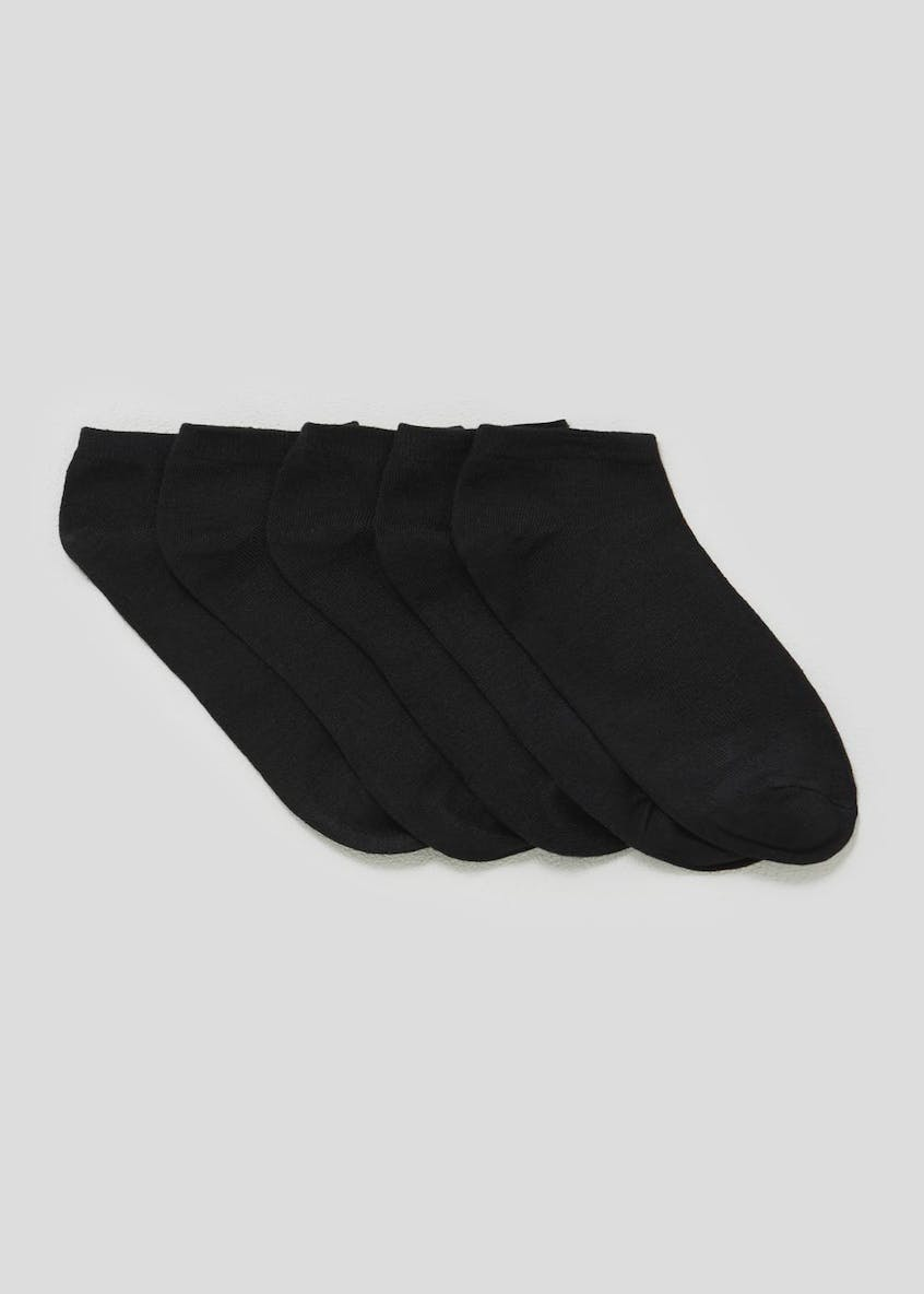 5 Pack Bamboo Trainer Socks