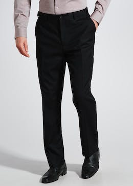 Herringbone Flexi Waist Trousers