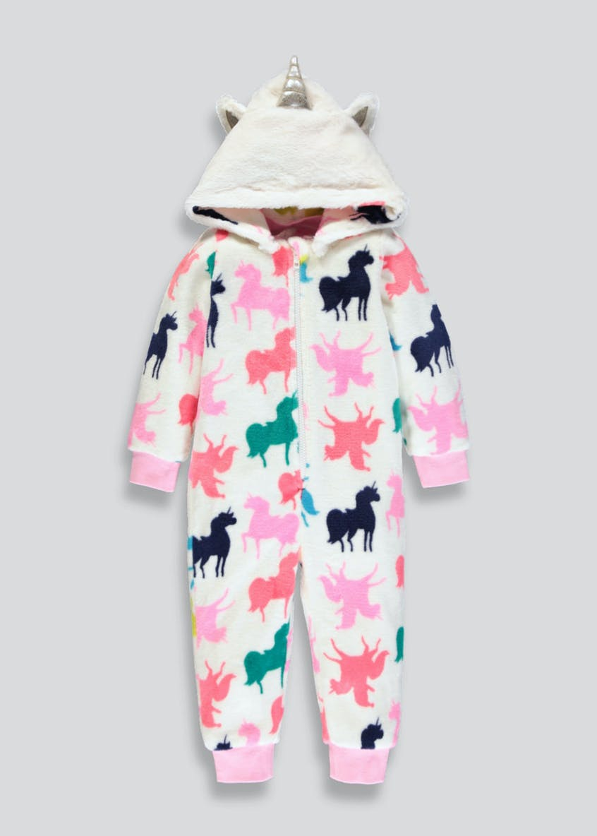 Kids Unicorn Hooded Onesie (9mths-5yrs)