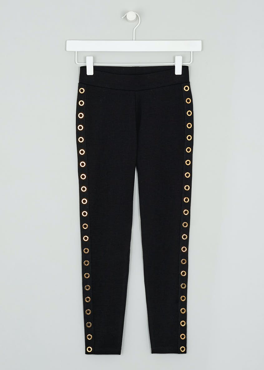Girls Candy Couture Eyelet Leggings (9-16yrs)
