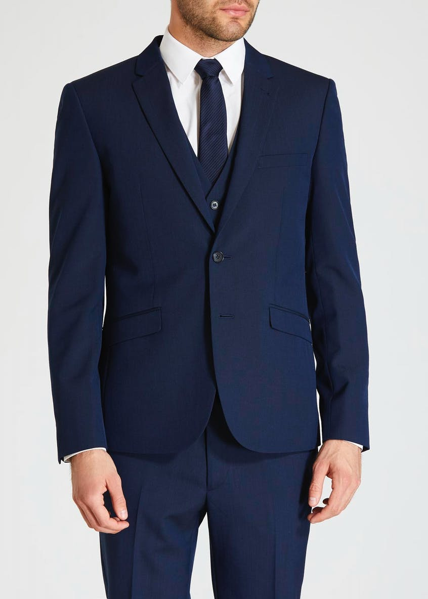 Paddington Wool Blend Skinny Fit Suit Jacket