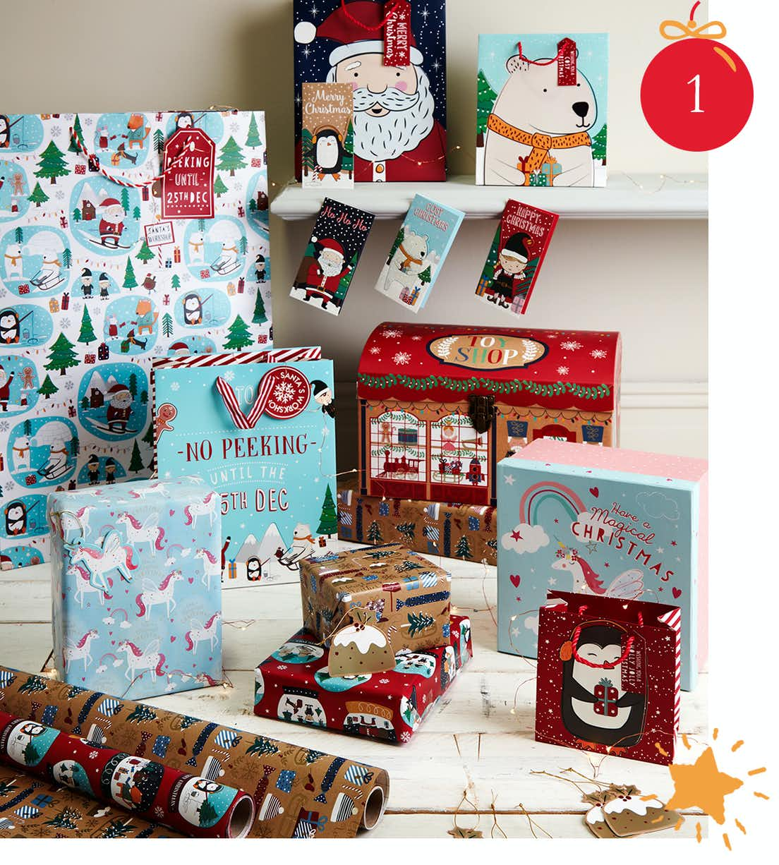 Shop Christmas Bags & Boxes