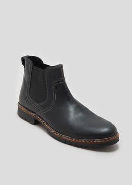 Real Leather Chelsea Boots