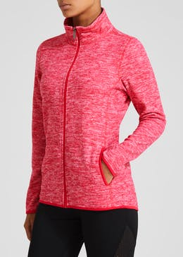 Souluxe Zip Through Sports Fleece