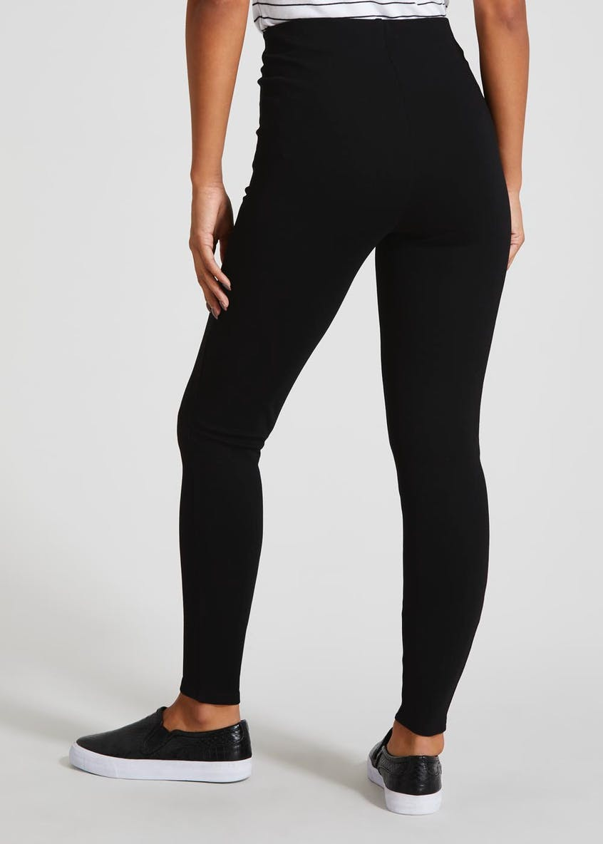 Double Zip High Waisted Body Shaper Leggings