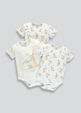 Unisex Guess How Much I Love You 3 Pack Bodysuits (Newborn-6mths)