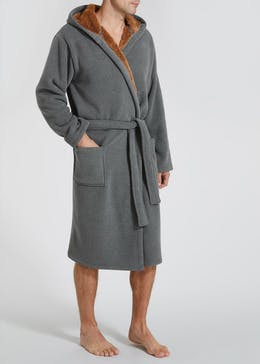 Bonded Fleece Dressing Gown