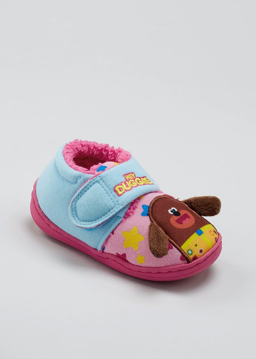 Kids Hey Duggee Riptape Slippers (Younger 4-12)