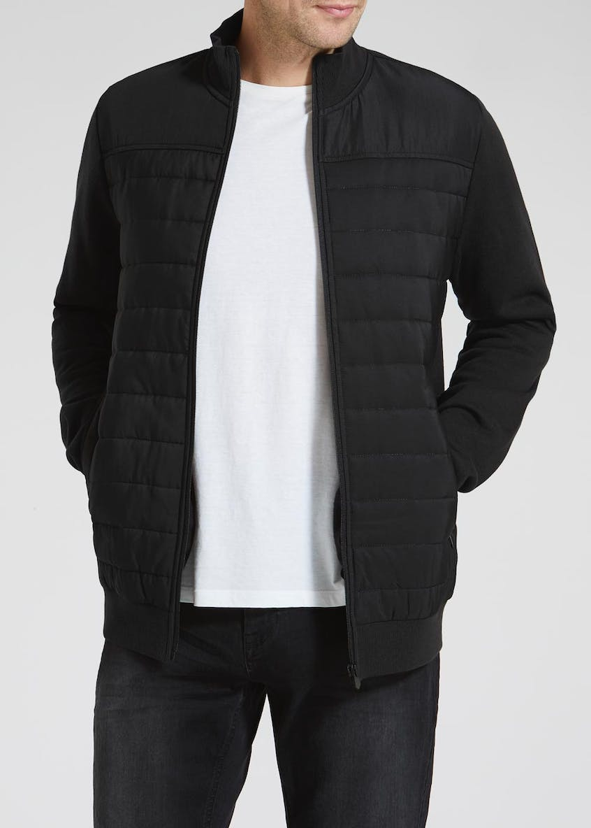 Quilted Jersey Jacket