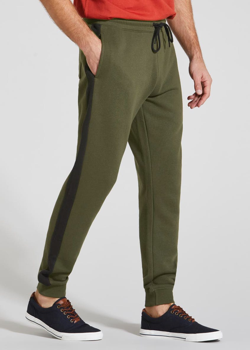 Side Stripe Jogging Bottoms