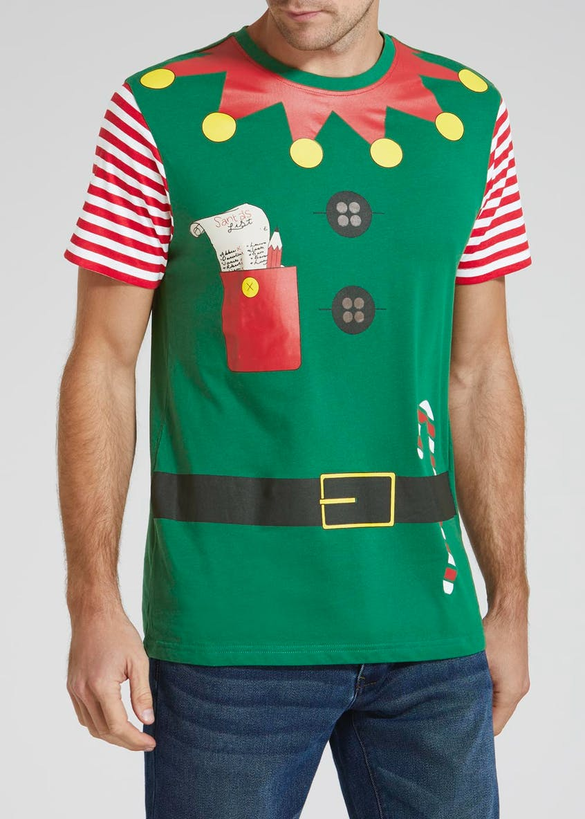 Elf Outfit Christmas T-Shirt