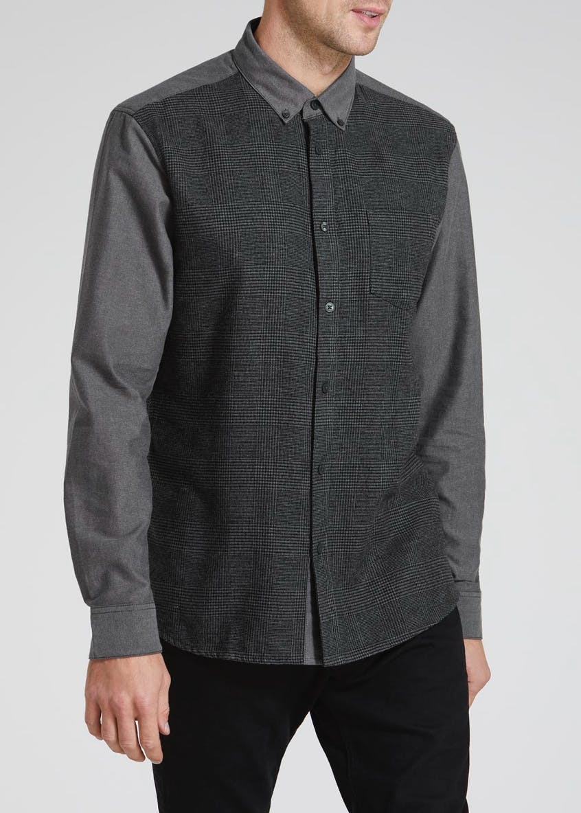 Big & Tall Long Sleeve Check Shirt