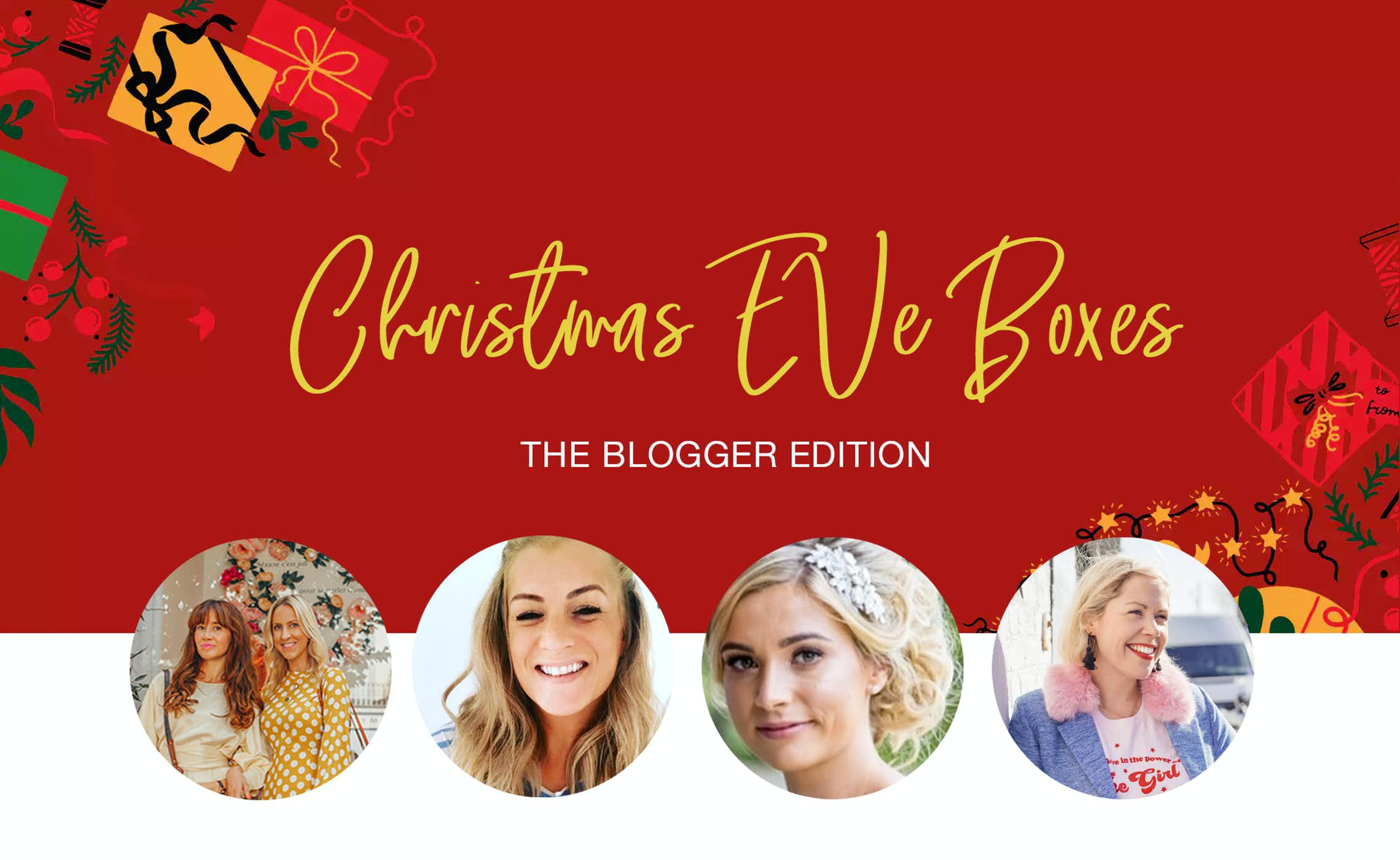 595c427903b A few of our favourite bloggers let us know what they d put in their Christmas  Eve boxes