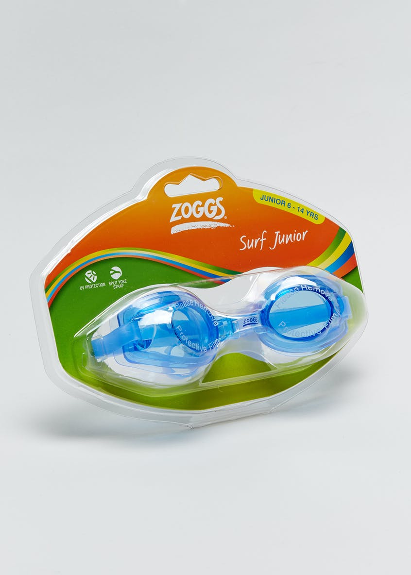 Kids Zoggs Surf Junior Swimming Goggles (6-14yrs)